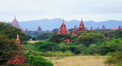 Photograph - Bagan 1 by Kurt Van Wagner