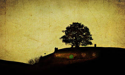 Bagend At Dusk Art Print by Linde Townsend