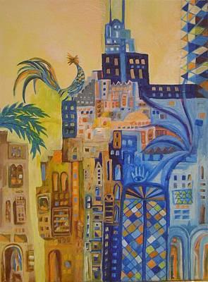 Baghdad City Painting - Baghdad In Dreems 2 by Yahya Batat