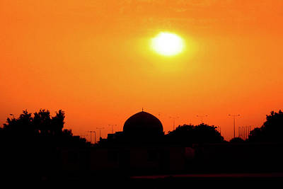 Photograph - Baghdad Mosque At Sunset II by Steven Green
