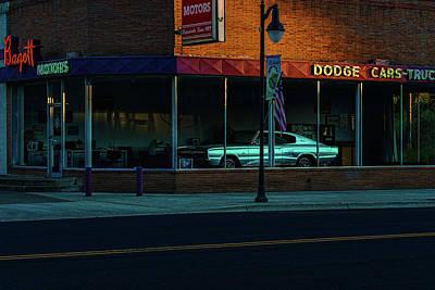 Bagott Motors Art Print