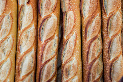 Photograph - Baguettes by Fran Gallogly