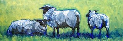 Painting - Bah Bah Bah by Sheila Tajima