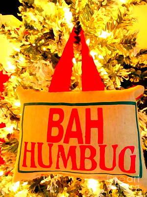 Humbug Photograph - Bah Humbug by Ed Weidman