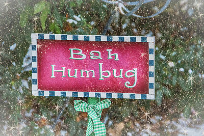 Bah Humbug Art Print by Pamela Williams