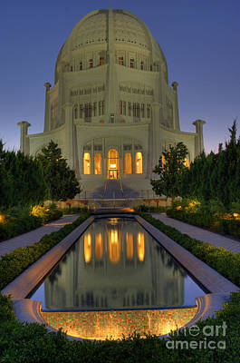 Photograph - Bahai Temple by Sandra Bronstein