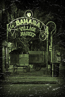 Photograph - Bahama Village Market Key West Florida by John Stephens