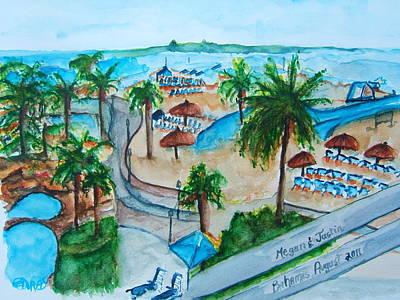 Bahamas Balcony Art Print