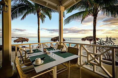 Photograph - Bahamas Breakfast Spot by Anthony Doudt