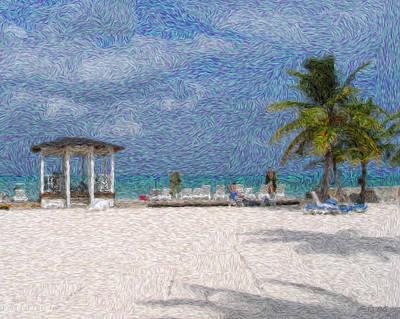 Lanscape Digital Art - Bahamas by Julie Niemela