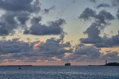 Photograph - Bahamas Seascape 1 by Steven Richman
