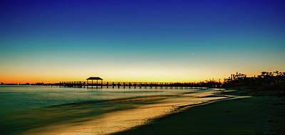 Bahamas Pier Photograph - Bahamas Sunrise by Anthony Doudt