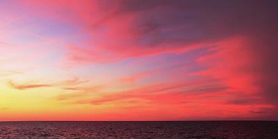 Photograph - Bahamas Twilight Sky by Roupen  Baker