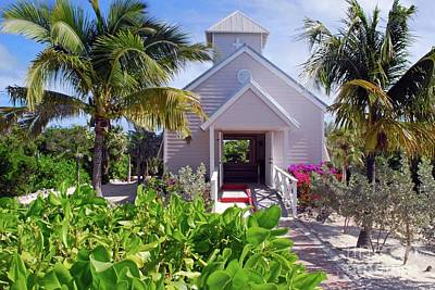 Photograph - Bahamian Church by Gary Wonning