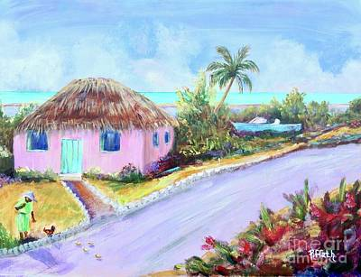 Painting - Bahamian Island Shack by Patricia Piffath