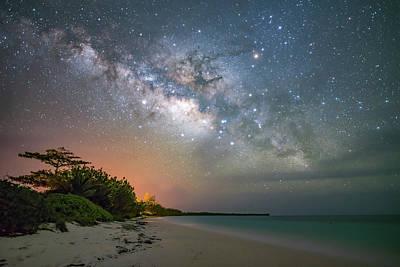 Wall Art - Photograph - Bahamian Milky Way 2 by Jeremy Tamsen