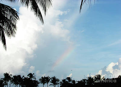 Photograph - Bahamian Rainbow by Leara Nicole Morris-Clark