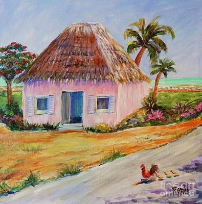 Painting - Bahamian Shack Painting by Patricia Piffath