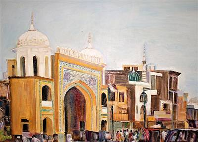 Painting - Bahawalpur City by Khalid Saeed