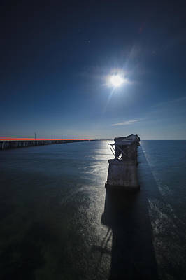 Photograph - Bahia Honda By The Moonlight by Dan Vidal