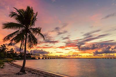 Bahia Honda State Park Sunset Art Print