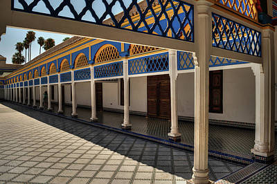 Photograph - Bahia Palace 001 by Lance Vaughn
