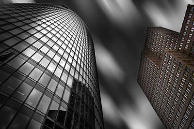 Photograph - Bahn Tower And Kollhoff-tower, Berlin by Rolf Mauer
