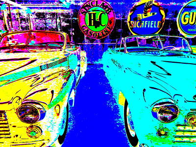 Photograph - Bahre Car Show II 40 by George Ramos