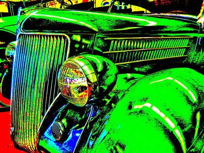 Photograph - Bahre Car Show II 44 by George Ramos