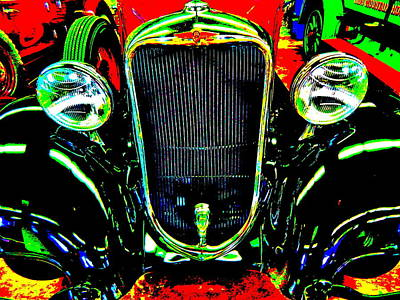 Photograph - Bahre Car Show II 45 by George Ramos