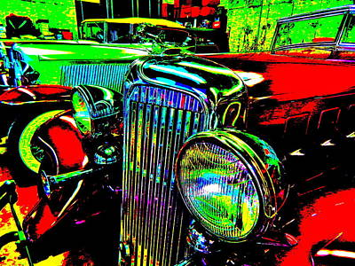 Photograph - Bahre Car Show II 46 by George Ramos