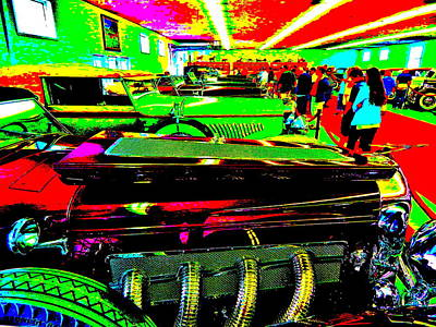 Photograph - Bahre Car Show II 47 by George Ramos
