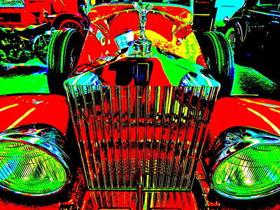 Photograph - Bahre Car Show II 49 by George Ramos