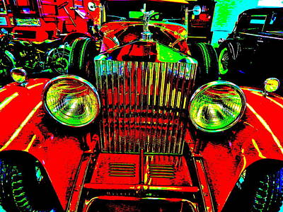 Photograph - Bahre Car Show II 50 by George Ramos