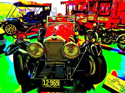 Photograph - Bahre Car Show II 51 by George Ramos