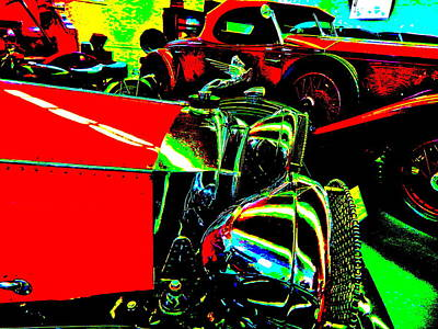 Photograph - Bahre Car Show II 53 by George Ramos