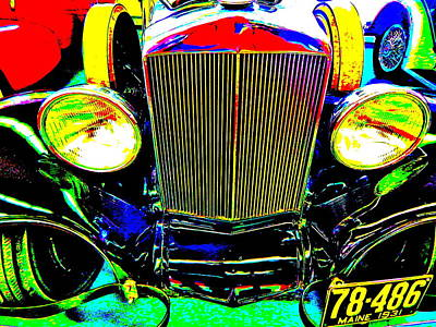 Photograph - Bahre Car Show II 55 by George Ramos