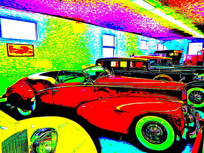 Photograph - Bahre Car Show II 56 by George Ramos