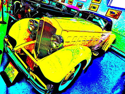 Photograph - Bahre Car Show II 57 by George Ramos