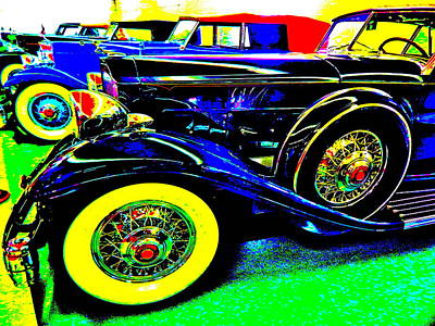 Photograph - Bahre Car Show II 59 by George Ramos