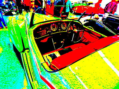 Photograph - Bahre Car Show II 60 by George Ramos