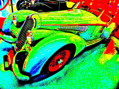 Photograph - Bahre Car Show II 61 by George Ramos