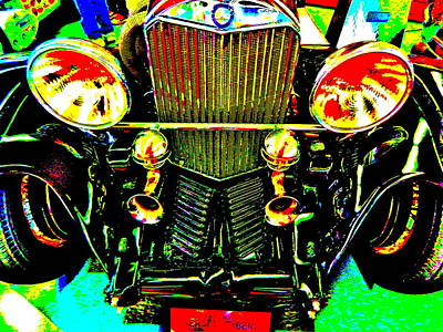 Photograph - Bahre Car Show II 63 by George Ramos