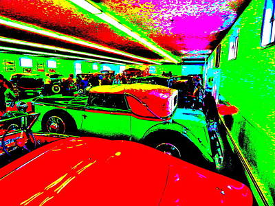 Photograph - Bahre Car Show II 65 by George Ramos