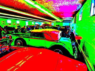 Photograph - Bahre Car Show II 65 by George Ramos