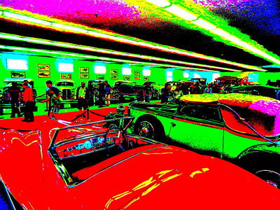 Photograph - Bahre Car Show II 66 by George Ramos