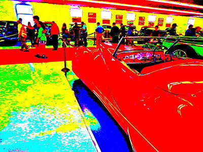 Photograph - Bahre Car Show II 67 by George Ramos