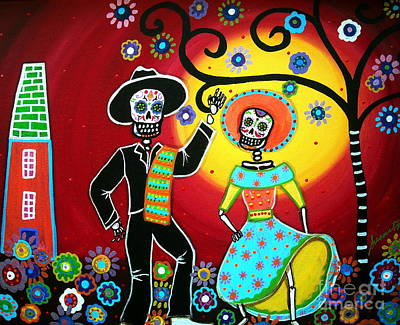Bailar Art Print by Pristine Cartera Turkus