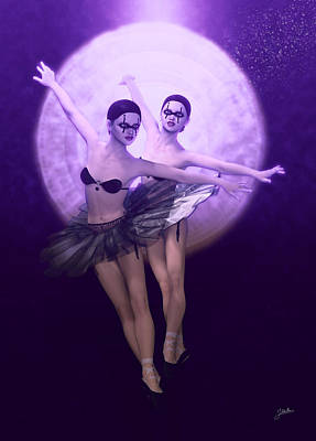 Bailarinas De Satanas Art Print