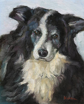 Painting - Bailey by Jeff Dickson